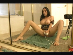 Self Discharged Mirror Squirt by Lascivious mother I'd like to fuck Vanilla DeVille