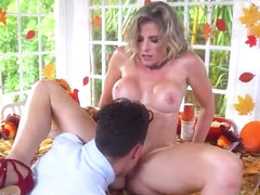 Big tits milf hardcore and swallow