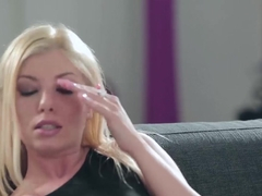 Attractive Donna Bell gets anally fucked hard in  few poses