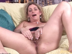 Alicia Silver in Masturbation Movie - AuntJudys