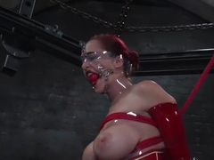 Incredible fetish adult clip with best pornstar Mz Berlin from Waterbondage