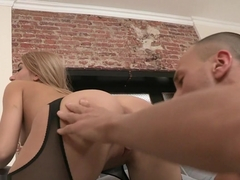 Incredible pornstar Tequila Girl in Crazy Facial, Blonde porn scene