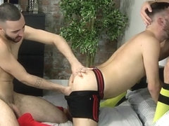 Can David Take Two Cocks? - Xavier Sibley, David Luca  Rafa Marco - BlakeMason