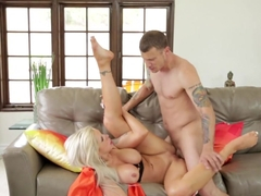 Horny pornstars Mr. Pete, Nina Elle in Incredible Pornstars, Blonde adult movie
