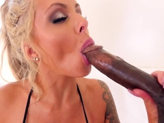 Fabulous pornstar Nina Elle in Incredible MILF, Blonde adult clip