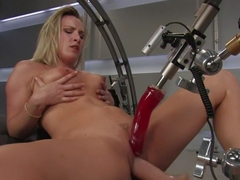 Horny fetish sex clip with crazy pornstar from Fuckingmachines