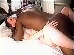 Cuck hubby and wife entertain dark guest