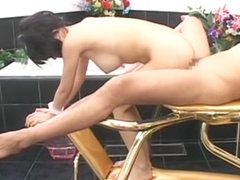 Crazy Japanese chick Sasa Handa in Hottest Femdom, Handjobs JAV movie