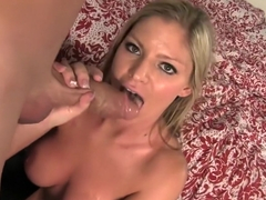 Bodacious blonde Brianna Brooks loves to tease and please a long dick