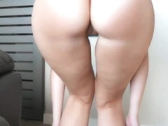 The big college girl ass and huge tits show