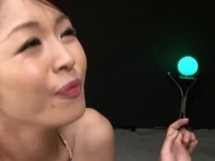 Marika Is a naughty Asian babe with a drippy cum facial