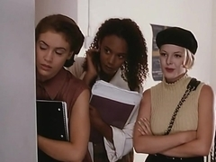 Glori Gold,Sabrina Allen,Shayna Ryan,Alyssa Milano,Charlotte Lewis,Jennifer Tilly in Embrace Of Th.