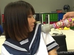 Koharu Aoi nice Japanese teen gets hot group action