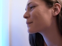 Exotic pornstars Vanda Lust and Cayenne Klein in incredible blowjob, brunette adult video