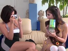 April O'neil, Isis Taylor and Madison Ivy