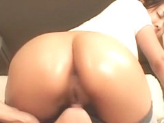 Crazy Japanese model Minori Hatsune in Incredible Ass JAV clip