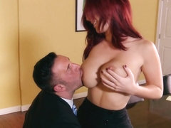 Big Tits at Work: Fucking the Deal