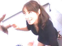 Fabulous Japanese whore Karen Kisaragi in Best Secretary JAV scene