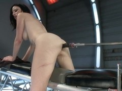 Holes of Action Hot Babe Fucked by Machines Bigger than Her