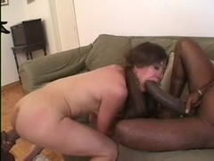 MONSTER black cock threesome