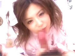 Amazing Japanese whore Riri Kuribayashi in Fabulous POV, Couple JAV scene
