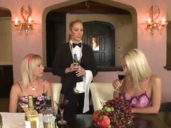 Hayden Hawkens and her GFs in lesbo scene