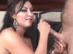 Fabulous pornstar Bianca Dagger in horny latina, handjobs porn movie