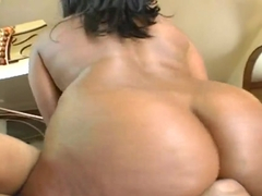 Amazing girl Candace Von is fucking with her man