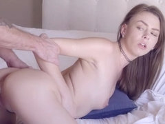 Hot pornstar blowjob and facial