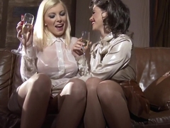 Incredible pornstars Dona Bell and Chintya Doll in crazy blonde, masturbation adult movie