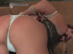 Best fetish, anal xxx movie with exotic pornstars Aiden Starr and Britney Stevens from Whippedass