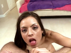 Yurizan Beltran feeling dick entering holes