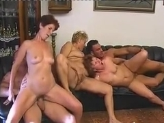Group sex with mature women - 9