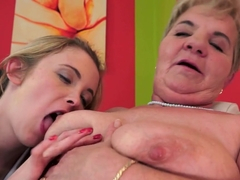 Incredible pornstars Lady Bella, Cristal Rose in Horny Blonde, Cunnilingus adult video