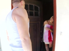 Anikka Albrite gets massaged and fingered like a whore