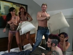 PILLOW FIGHT! BurningAngel Video