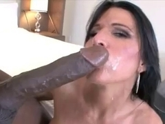Aged Mother I'd Like To Fuck's love tunnel smashed by Mandingo...Kyd!!!