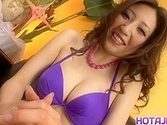Koyuki Hara is aroused a lot