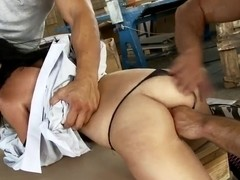 Awesome threesome fuck of Jessyka Swan