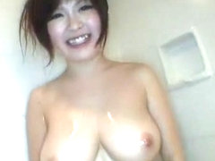 Fabulous Japanese girl Rio Hamasaki in Hottest Showers, Big Tits JAV movie