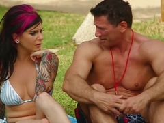 BurningAngel Joanna Anal Fucked By The Pool
