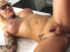 Pierce Paris in Trannylicious - TrannyPros