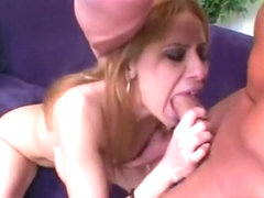 Spanish beauty with wonderful oral skills gets her ass pounded rough