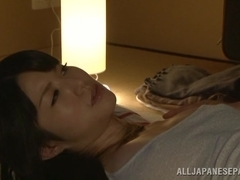 Hot Asian milf Chizuru Sakura fucks with her neighbor