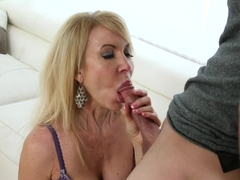 Horny pornstars Erica Lauren, Chad Alva in Crazy Blowjob, Facial sex scene