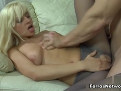 Anal-Pantyhose Clip: Connie A and Nicholas