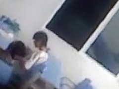 chinese students blowjob in class