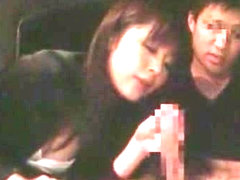 Crazy Japanese whore in Hottest Handjobs JAV scene