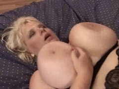 Aged big beautiful woman with large tits
