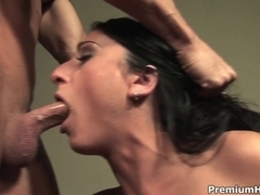 Luscious Lopez drilled in her face hole